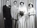 Andy (1932-2006) & Marie (1931-2009) Zetsen [Hurkens] Wedding June 27, 1953